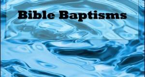 Bible Baptisms Title Pic
